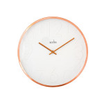 Acctim 27698 Rostock Wall Clock Copper