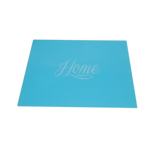 Anika 30 x 40 cm Glass Surface Saver Duck Egg Blue