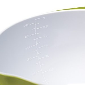 Colourworks Lime Green Melamine Mixing Bowl 22 cm