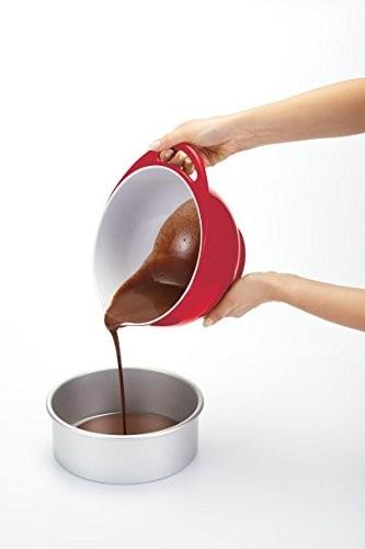 Colourworks Red Melamine Mixing Bowl 22 cm