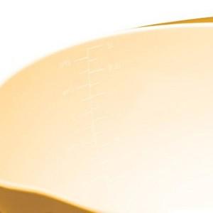 Colourworks Yellow Melamine Mixing Bowl 22 cm