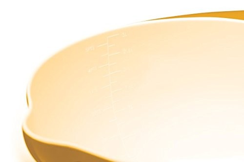 Colourworks Yellow Melamine Mixing Bowl 22 cm