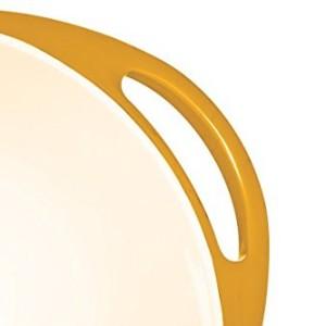 Colourworks Yellow Melamine Mixing Bowl 24 cm