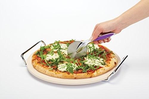 Kitchen Craft Colourworks Pizza Cutter Purple