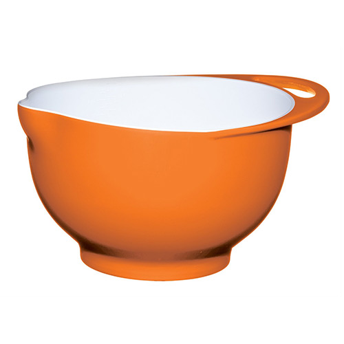 Colourworks Orange Melamine Mixing Bowl