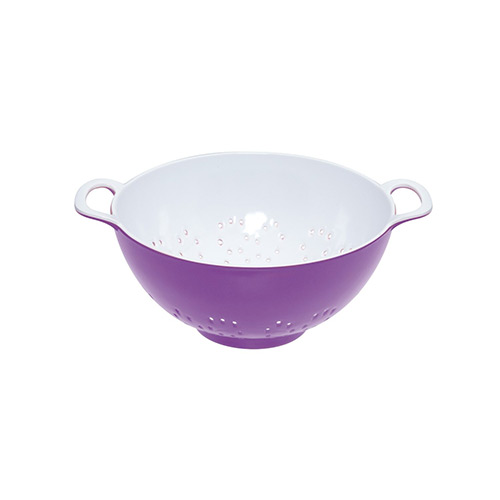 Colourworks Purple Melamine Colander 15 cm
