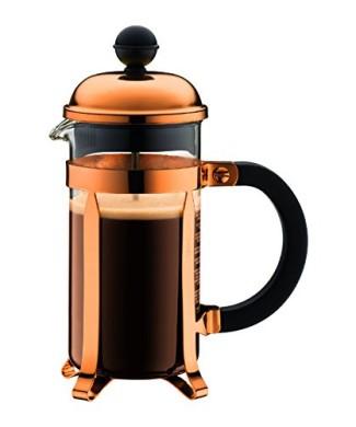 BODUM 035 Litre Borosilicate Glass Chambord French Press 3 Cup Coffee Maker Copper 0 325x390 Bodum Chambord French Press Set