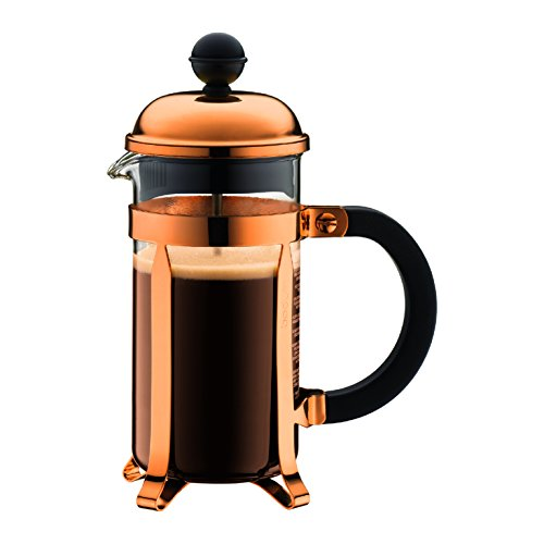 Pink French Press Coffee Maker : BODUM 0.35 Litre French Press 3-Cup Copper Coffee Maker - My Kitchen Accessories