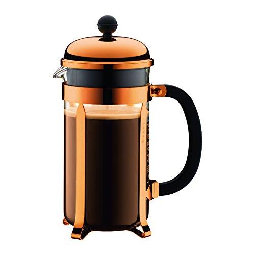 BODUM 1 Litre 8-Cup Copper Coffee Maker