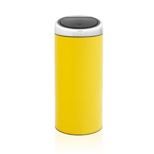 Brabantia 30 Litre Soft Touch Bin - Yellow