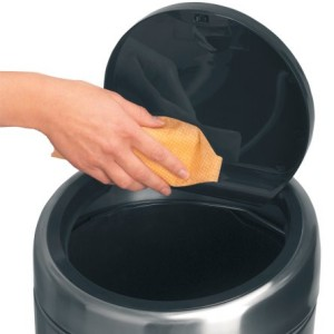 Brabantia 30 Litre Soft Touch Bin - Matt Black with Fingerprint Proof Lid