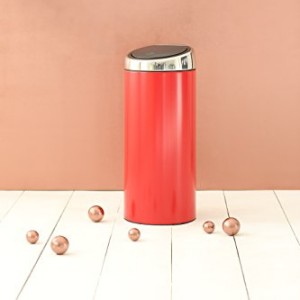 Brabantia 30 Litre Soft Touch Bin - Passion Red