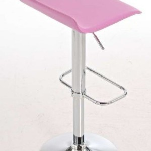 CLP-Bar-Stool-DYN-height-adjustable-60-78-cm-choose-from-up-to-11-colors-360--rotatable-with-leatherette-cover-pink-0-1