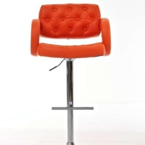 CLP Dublin Breakfast Bar Stool Orange