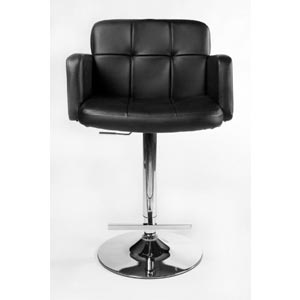 CLP Los Angeles Breakfast Bar Stool Black