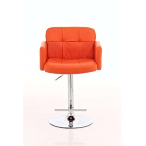 CLP Los Angeles Breakfast Bar Stool Orange