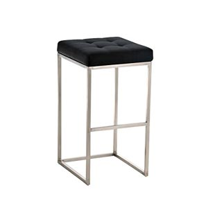 CLP Lugano Square Bar Stool Black
