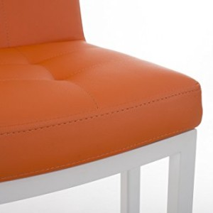 CLP Carlton Breakfast Bar Stool Orange