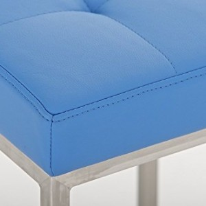CLP Lugano Square Bar Stool Blue