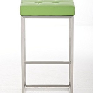 CLP Lugano Square Bar Stool Green