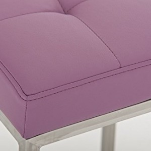 CLP Lugano Square Bar Stool Purple