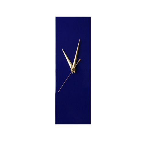 Contemporary Living Company Slim Navy Blue Wall Clock My
