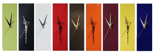 Contemporary Living Company Slim Yellow Wall Clock