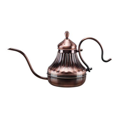Diguo-Hand-Drip-Kettle-Pour-Over-Coffee-and-Tea-Pot-450ml-(Copper)