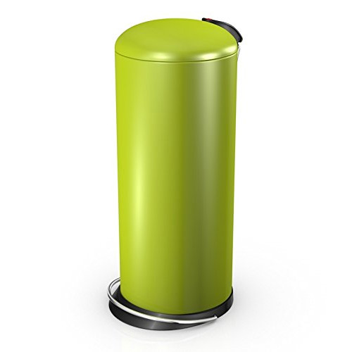 Hailo 26 Litre Designer Kitchen Pedal Bin - Lime Green