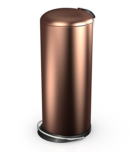 Hailo 26 Litre Designer Kitchen Pedal Bin - Copper