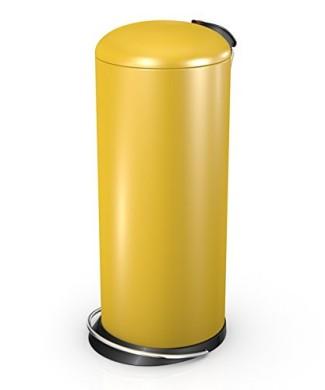 hailo bin topdesign 26 litre designer waste pedal kitchen bin honey