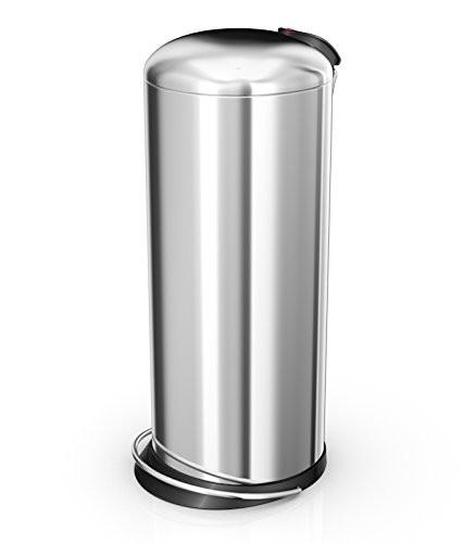 Hailo 26 Litre Designer Kitchen Pedal Bin - Stainless Steel