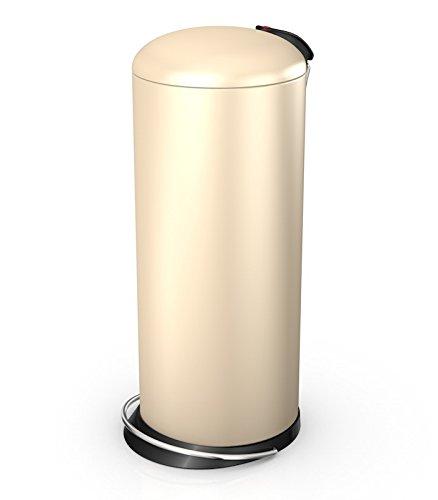 Hailo 26 Litre Designer Kitchen Pedal Bin - Vanilla Cream