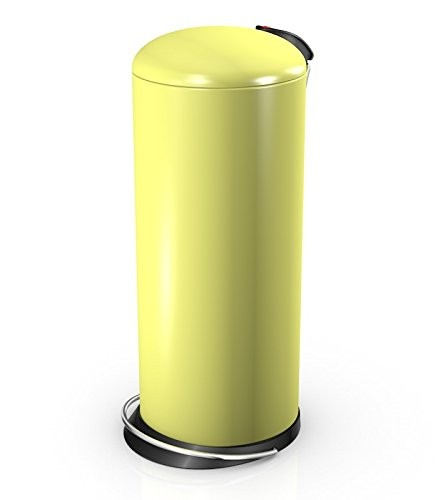 Hailo 26 Litre Designer Kitchen Pedal Bin - Yellow