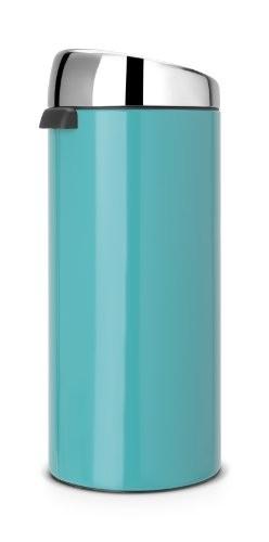 Brabantia 30 Litre Soft Touch Bin Caribbean Blue My