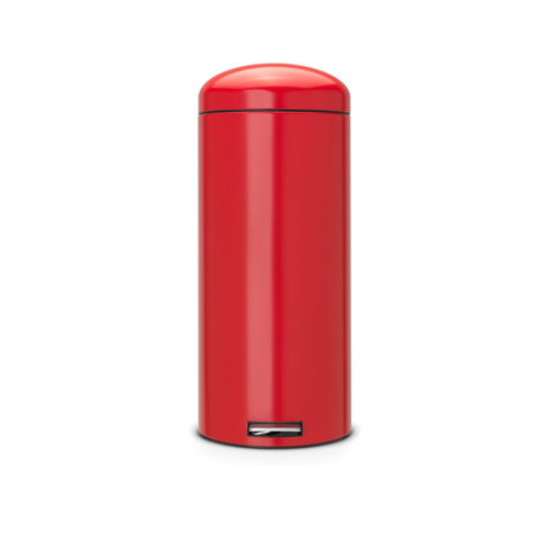 Brabantia 30 Litre Retro Bin - Passion Red