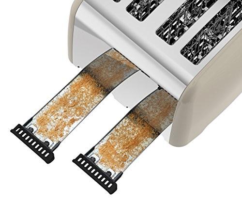 Breville Colour Notes 4-Slice Toaster - Cream