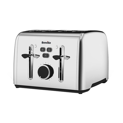 Breville Colour Notes 4-Slice Toaster - Stainless Steel