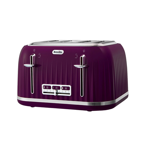Purple And Green Kitchen Accessories: Breville Impressions 4 Slice Toaster