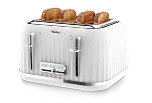 Breville Impressions 4 Slice Toaster - White