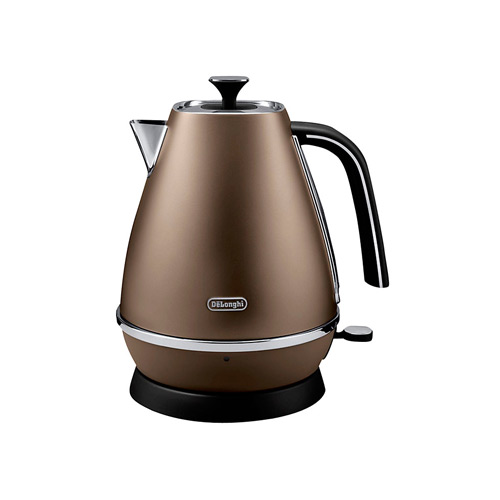 DeLonghi Distinta Jug Kettle, Bronze