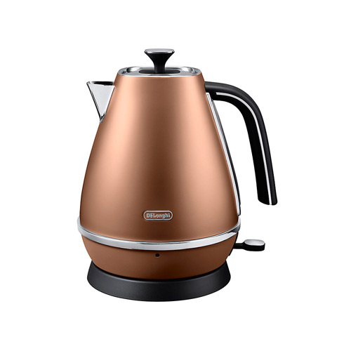 DeLonghi Distinta Jug Kettle, Copper