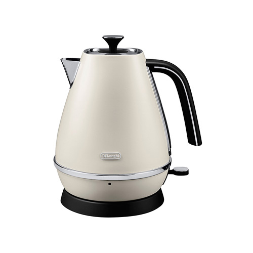 DeLonghi Distinta Jug Kettle, White