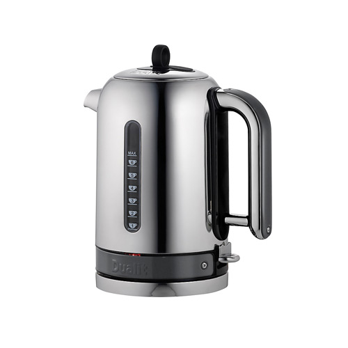 Dualit Stainless Steel Made to Order Classic Kettle - Traffic Grey Gloss