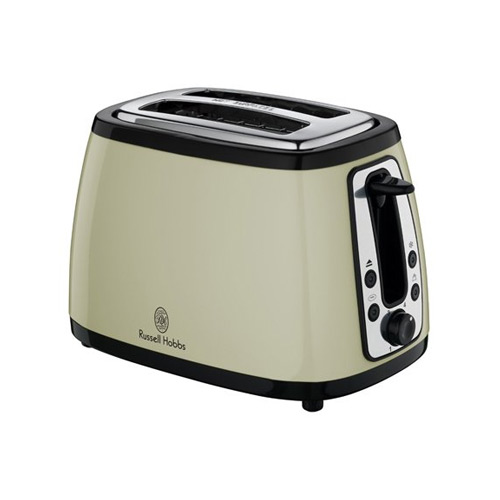 Russell Hobbs 18259 Heritage 2 Slice Toaster - Country Cream