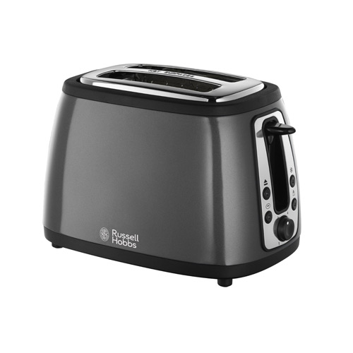 Russell Hobbs 18259 Heritage 2 Slice Toaster - Graphite Grey