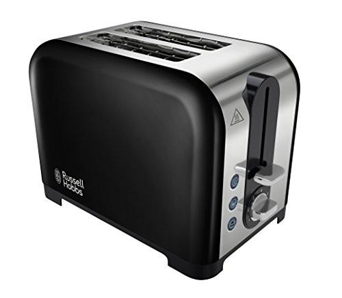 Russell Hobbs 22392 Canterbury 2-Slice Toaster - Black