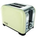 Russell Hobbs 22393 Canterbury 2-Slice Toaster - Cream