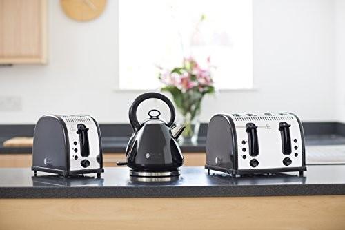 Russell Hobbs Legacy 2 Slice Toaster - Black
