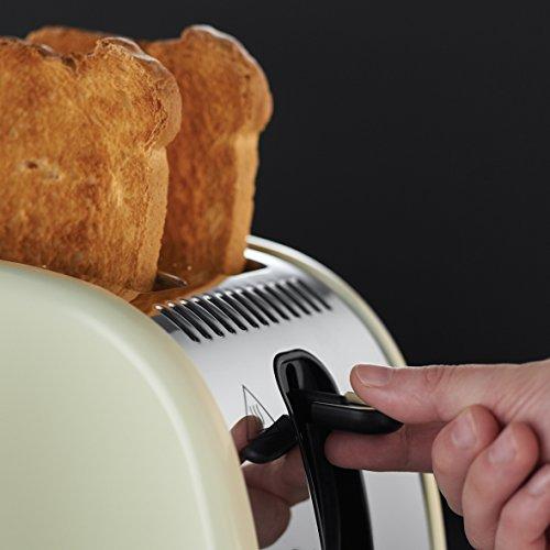 Russell Hobbs Legacy 2 Slice Toaster - Cream